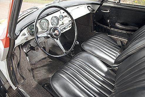 In den 1990ern wurde der Porsche restauriert