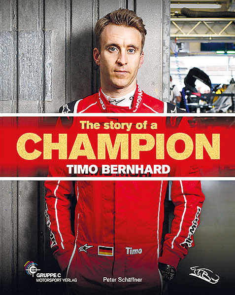 The story of a Champion - Timo Bernhard Cover_