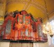 WEENER.Aus d.Werkstatt v. ARP SCHNITGER stammt die Orgel (1709_1710) in der Georgskirche v.Weener.Foto.B.Meier.2.20154