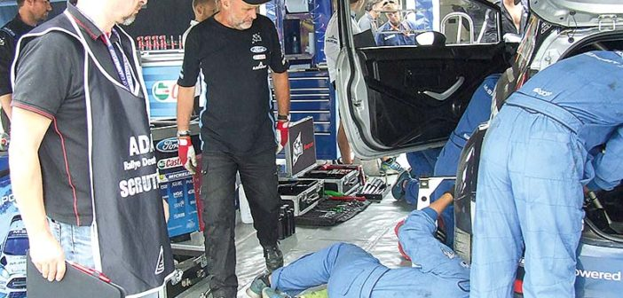 Rallye-Kommissar in der WRC